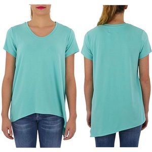 Southcott Short Sleeve Carpool Chic Tee Teal Blue